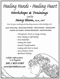 Healing Hands Workshop