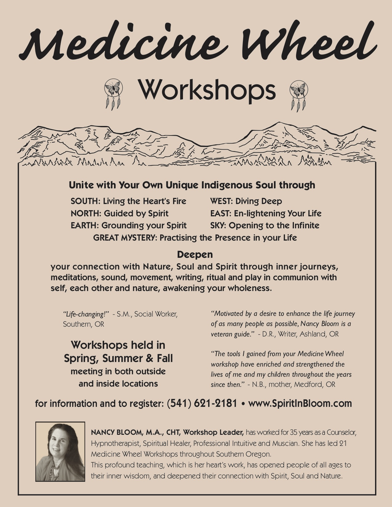 Medicine Wheel Workshops